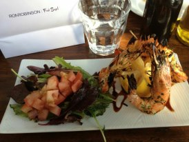 GRILLED CALEDONIAN PRAWNS