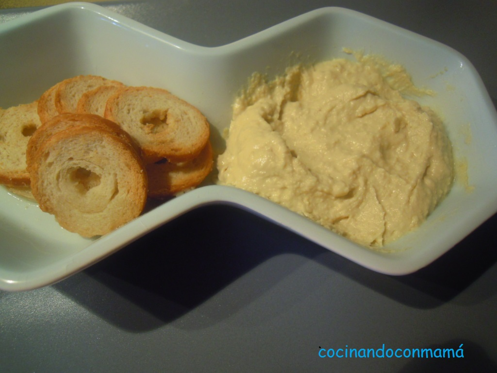 Humus de garbanzo
