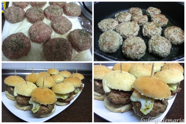 Mini Hamburguesas de Ternera
