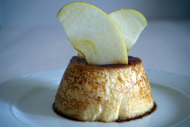 Flan de Huevo y Manzana | Cooking Day by Day