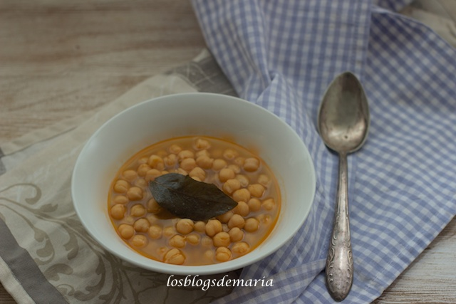 Garbanzos rápidos en Thermomix