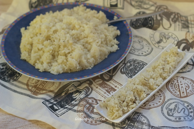 Arroz pilaf en Thermomix
