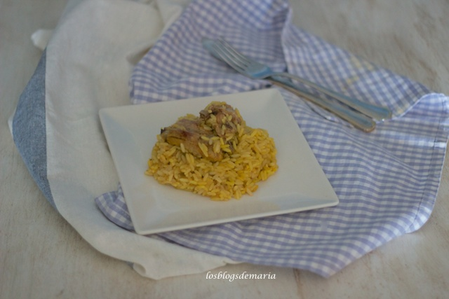 Arroz con costilla en olla GM E