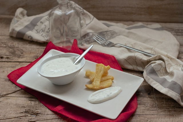 Salsa de yogurt en Thermomix