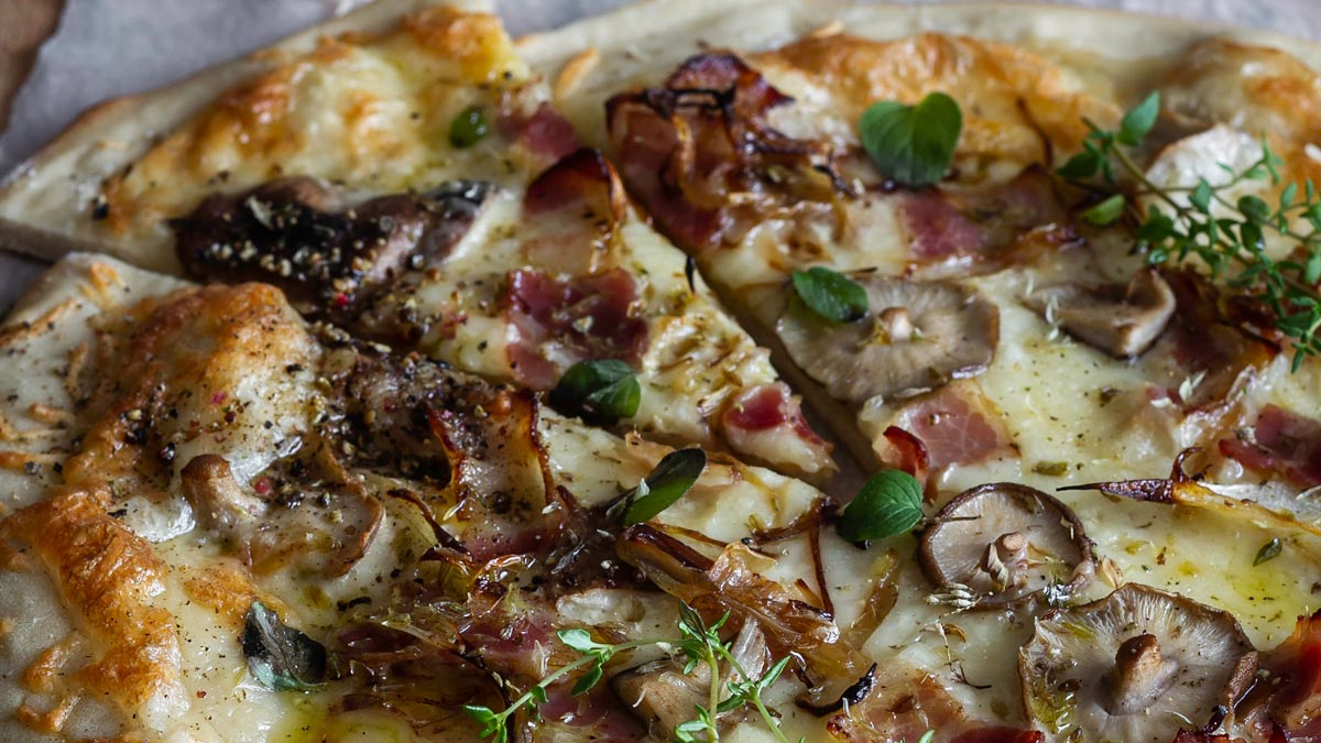 Pizza casera | The Coozy Cooking